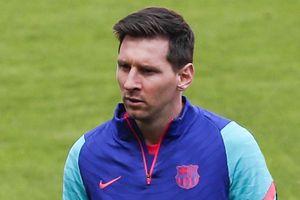 Messi thay đổi diện mạo trước chung kết Copa del Rey