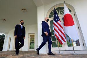 Tổng thống Mỹ đón tiếp thủ tướng Nhật Bản tại Nhà Trắng