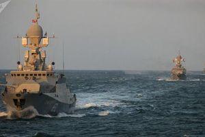 Ba tàu mang Kalibr từ Caspian bất ngờ hiện diện ở Azov