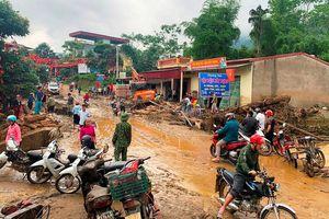 Lũ ống trong đêm làm hai người chết ở Lào Cai