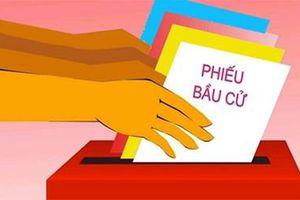 Tổ bầu cử được nhận bàn giao các loại tài liệu, vật tư nào để sử dụng trong công tác bầu cử?