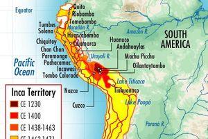 Kinh ngạc với chiều dài khó tin của lãnh thổ đế chế Inca