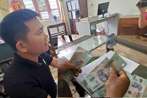 Chủ tịch Mặt trận xã ký khống nhận tiền của hộ nghèo ở Nghệ An