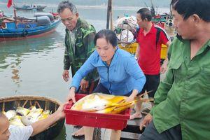 Ngư dân Hà Tĩnh trúng đậm cá vàng dương sau một đêm ra khơi