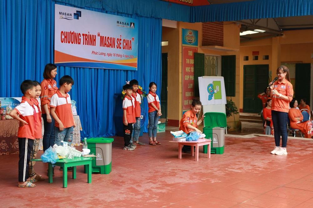 Thái Nguyên: 'Masan sẻ chia' hoạt động thiện nguyện đầy ý nghĩa