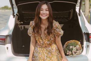 Thanh Hằng diện loạt váy hoa đến suit công sở bình dân giá rẻ siêu xinh