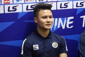 CLB Hà Nội và HAGL cách biệt 9 điểm, Quang Hải nói gì trước thềm trận đọ sức?