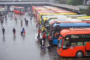 Hà Nội đình chỉ khai thác tuyến vận tải hành khách đối với 9 xe khách