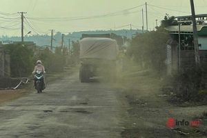 Vụ xe chở đá cày nát đường và câu trả lời không ngờ của Chủ tịch huyện Ea H'Leo