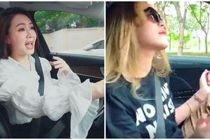 Sao Việt bị fan nhắc nhở vì có hành động này khi lái xe: Hồng Diễm làm vlog, Hoàng Thùy Linh nhún nhảy
