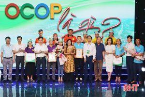 Đức Bồng, Đức Giang nhất Cuộc thi 'OCOP là gì' vòng huyện Vũ Quang