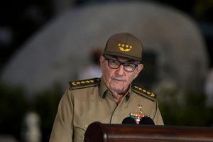 Đại tướng Rául Castro sẽ rời cương vị lãnh đạo Đảng Cộng sản Cuba