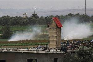 Israel không kích Dải Gaza đáp trả vụ tấn công rocket