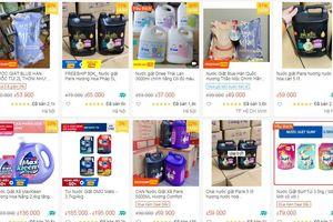 Cảnh giác với 'ma trận' nước giặt giá rẻ
