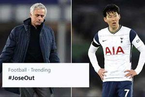 'Làn sóng' đòi sa thải Mourinho dâng cao sau trận Everton vs Tottenham