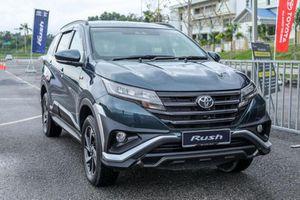 Toyota Rush bổ sung màu sơn mới, không thay đổi giá