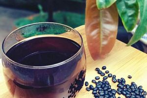 Uống nước đậu đen có tác dụng giảm cân nhanh