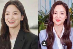 Nhan sắc của Song Hye Kyo được so sánh giống với 'bạn gái' của Song Joong Ki: Như hai chị em sinh đôi?