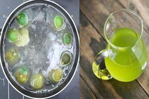 5 loại nước uống vào giảm cân nhanh
