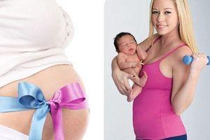 Công thức giảm cân sau sinh có thể bạn chưa biết