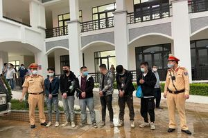 Phát hiện 6 người nước ngoài nhập cảnh trái phép trên cao tốc Bắc Giang-Lạng Sơn