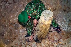 Thanh Hóa phá hủy quả bom có trọng lượng 340kg