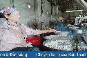 Hồi sinh làng ươm tơ, dệt nhiễu Hồng Đô