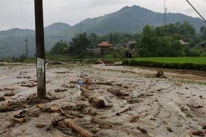 2 người thiệt mạng, 1 người mất tích trong trận lũ ống kinh hoàng tại Lào Cai