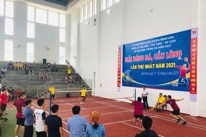 Minh Hóa: Khai mạc giải bóng đá và cầu lông chào mừng Hội rằm tháng ba