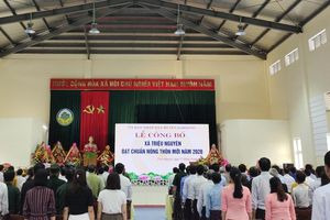 Quảng trị: Xã Triệu Nguyên về đích Nông thôn mới năm 2021