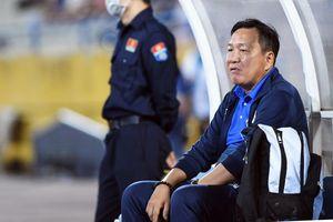 HLV Hoàng Văn Phúc mong thần may mắn trợ giúp Hà Nội FC ở trận gặp HAGL