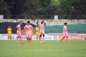 Hà Tĩnh hạ đẹp SLNA ngày ra mắt của HLV Thành Công