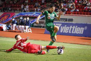 10 người Sài Gòn FC cầm hòa Hải Phòng, thoát khỏi vị trí cuối bảng V-League 2021