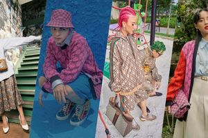 Fashionista Việt 'nhanh nhẹn' khoe dáng trong các thiết kế mới nhất từ các BST đặc biệt của Gucci