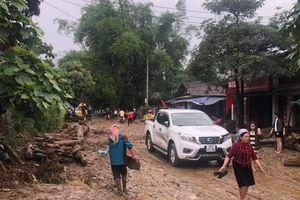 Cảnh tan hoang nơi lũ ống quét qua cuốn trôi 3 người ở Lào Cai