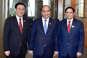 Lãnh đạo các quốc gia tiếp tục gửi điện, thư chúc mừng lãnh đạo nước ta