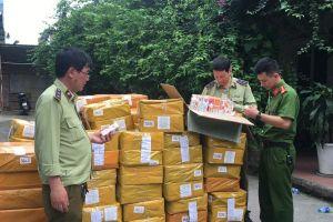 Thu giữ gần 14.000 lọ tinh dầu thuốc lá điện tử trị giá hàng tỉ đồng