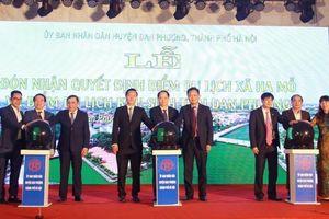 Đan Phượng có thể trở thành trung tâm nghỉ dưỡng của Hà Nội?