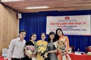 Hoa khôi Phương Thảo bảo vệ thành công luận văn thạc sĩ