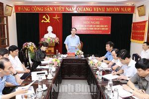 Ninh Bình: Ban Tổ chức Tỉnh ủy triển khai nhiệm vụ công tác tổ chức xây dựng Đảng quý II