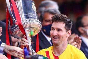 Messi lập kỷ lục trong ngày nâng cao cúp vô địch