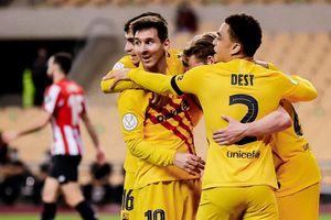 Highlights chung kết Cúp Nhà vua: Bilbao 0-4 Barca