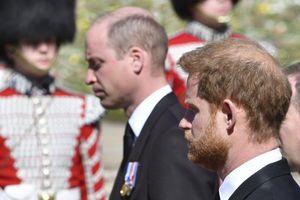 Hoàng tử William - Harry xóa tan tin đồn rạn nứt ở đám tang ông
