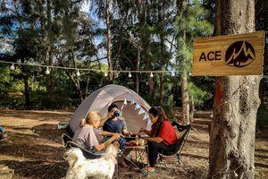 4 địa điểm cắm trại cuối tuần gần TP.HCM