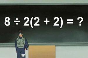 Phép toán gây tranh cãi trên mạng xã hội