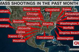 Nước Mỹ có 45 vụ xả súng hàng loạt trong một tháng