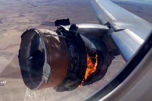 Động cơ máy bay nổ trên không, hành khách kiện United Airlines