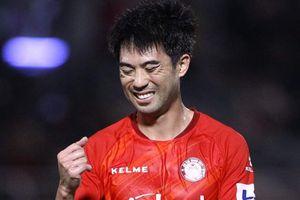 Lee Nguyễn nhận thẻ đỏ trong trận thua của CLB TP.HCM