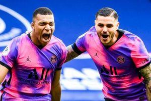 Mbappe thăng hoa trong màu áo PSG