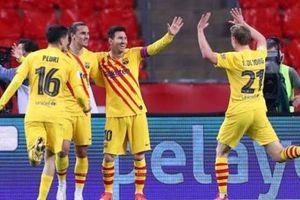 Barcelona vô địch Cúp Nhà Vua Tây Ban Nha